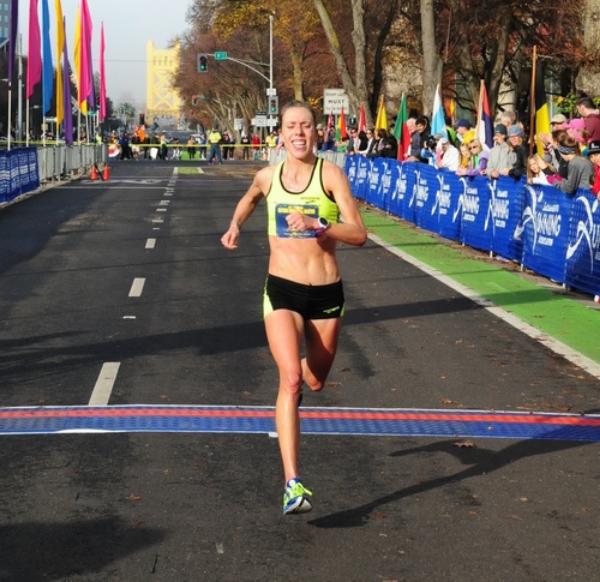 Athlete Kristen Zaitz
