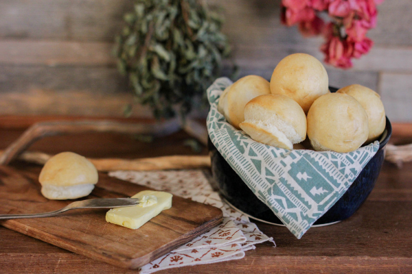 Classic Sourdough Dinner Rolls from Bread Srsly that are Gluten-Free, Nut-Free, and Vegan