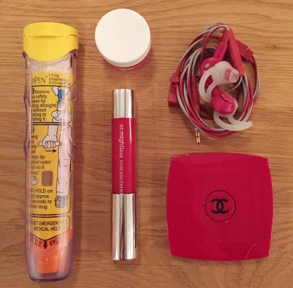 The Allergy Free Wife's Daily Purse Contents