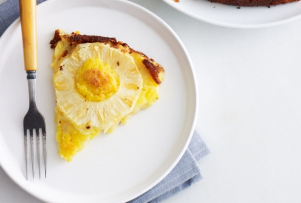 Gluten-Free, Nut-Free Passover Pineapple Kugel, Photo Credit:Joy of Kosher