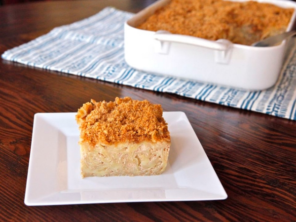 Chai Noodle Kugel, Photo Credit: Tori Avey