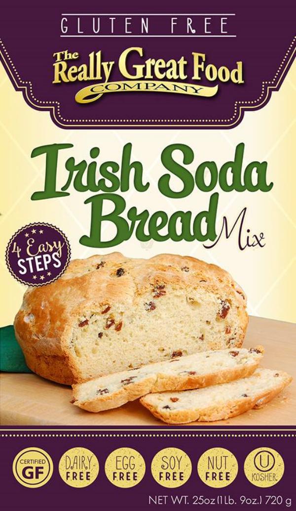 Nut-Free, Gluten-Free, Egg-Free, Soy-Free, Irish Soda Bread