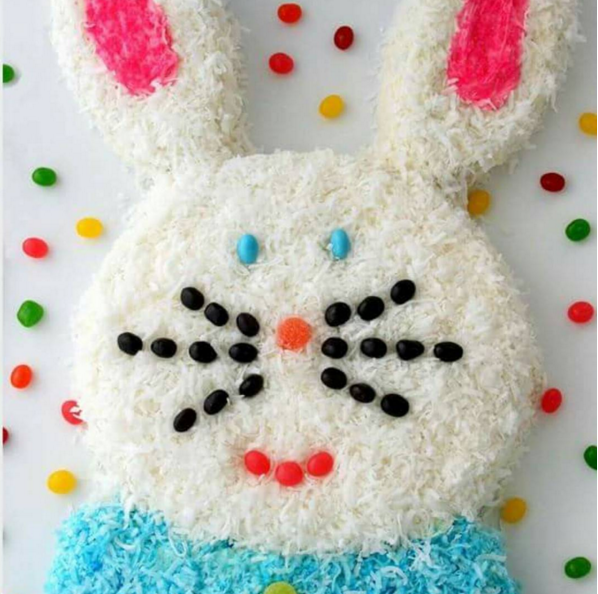 Bunny made from The Really Great Food Company Baking Mix