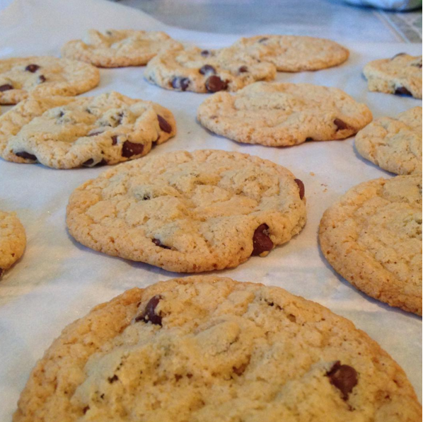 @alaureltree's Chocolate Chip Cookies using The Really Great Food Company's Pancake Mix