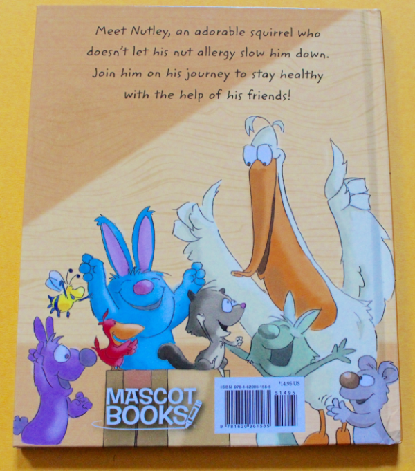 Nutley, The Nut-Free Squirrel Back Cover