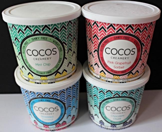Coco's Creamery, Dairy-Free, Gluten-Free, Wheat-Free, Egg-Free, Peanut-Free Coconut Dessert
