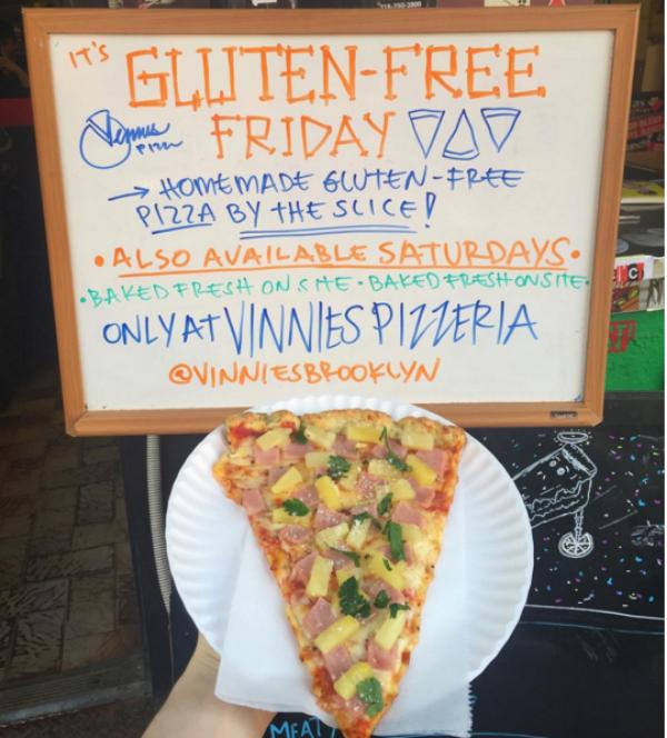 Vinnie's Pizzeria, The Best Gluten-Free Pizza in NYC