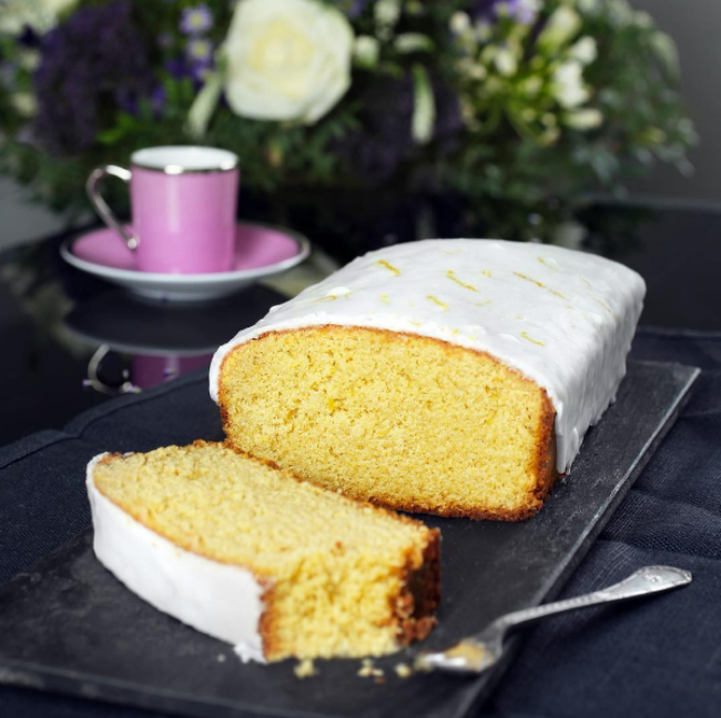 Lemon Drizzle Cake, Beyond Bread Bakery and Cafe