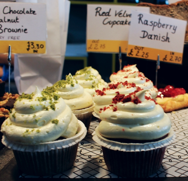 Gluten-Free Cupcakes from Beyond Bread Bakery and Cafe