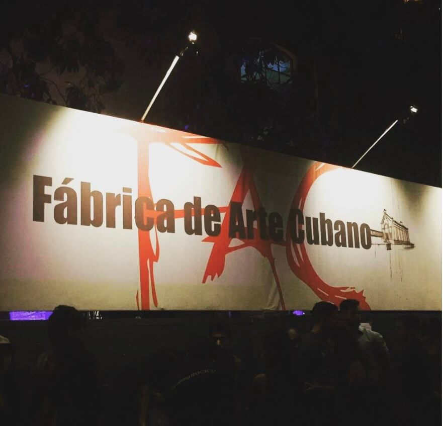 Private Tour of Fabrica de Arte Cubano