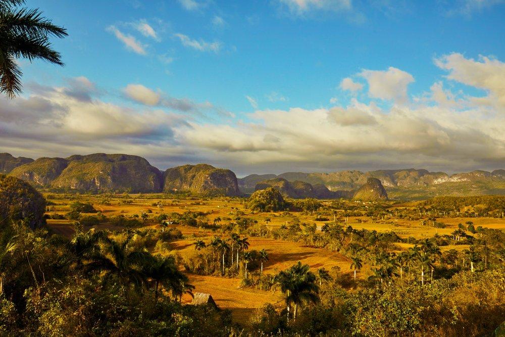 The historic Viñales Valley, Cuba