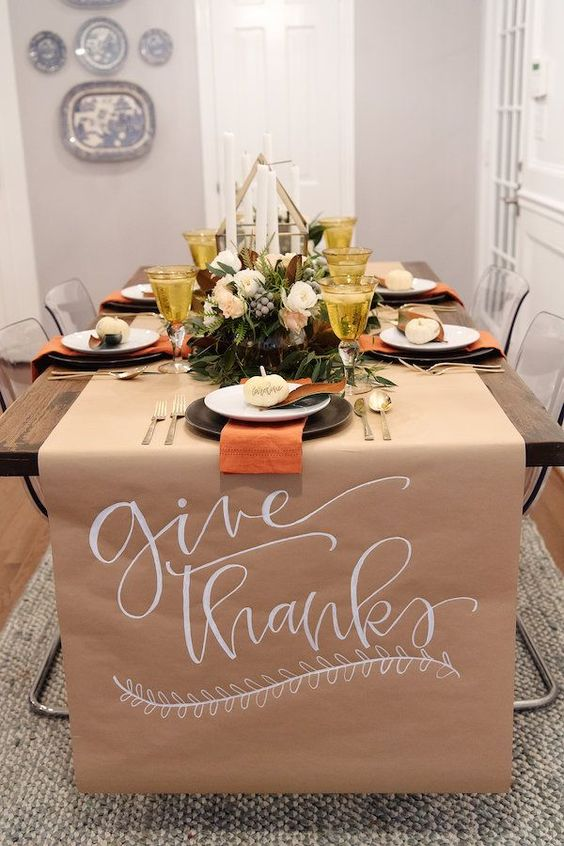 Thanksgiving Dinner Table Styling Harlow Dahlia Events