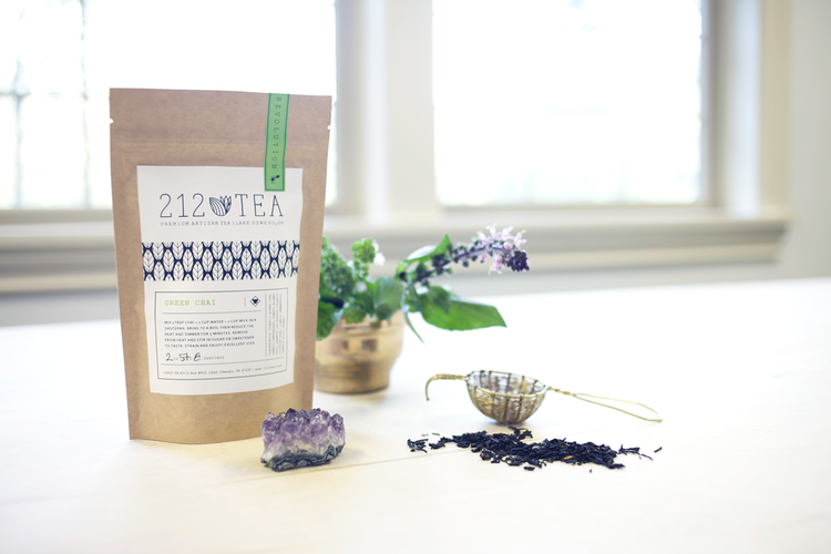 212 tea // branding & logo design
