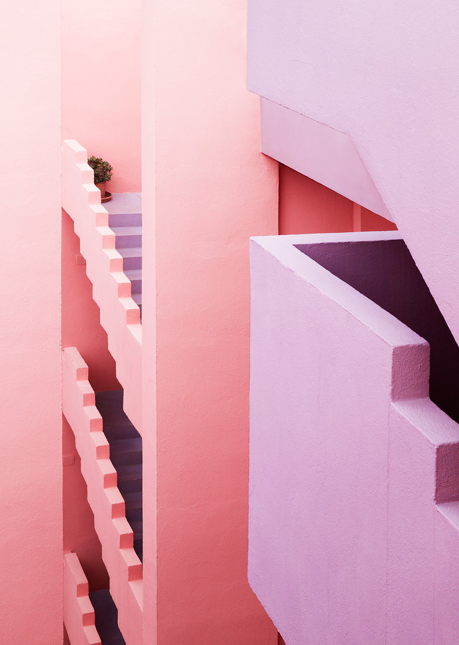 In love with this photography project from Jeanette hagglund & architect Ricardo Bofill – more about it on the pattern people blog!