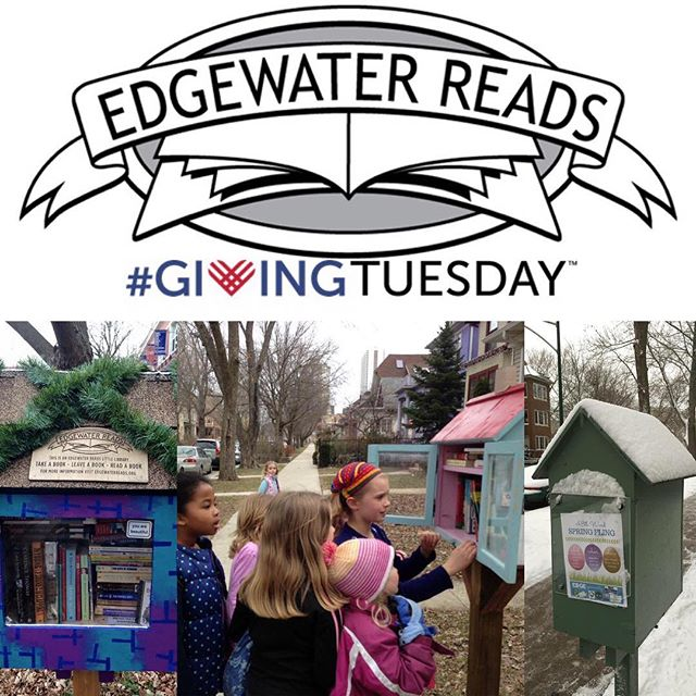 It's not too late to consider Edgewater Reads for your #GivingTuesday contributions! #donatelocal #givingbacktoyourcommunity #edgewaterreads #everybodyreads