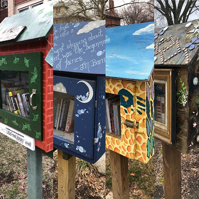 We are gearing up for a busy Spring in Edgewater! Volunteers were out distributing books to some of our local little libraries today. Thank you @chicagopubliclibrary and @wcfbook for the donations! Let us know if your library needs to be restocked! #littlefreelibrary #edgewaterreads #nevertoomanybooks