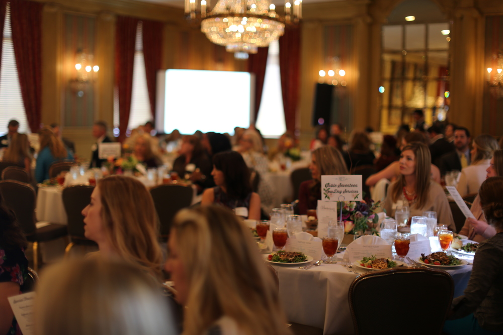 200 people came to our first annual luncheon