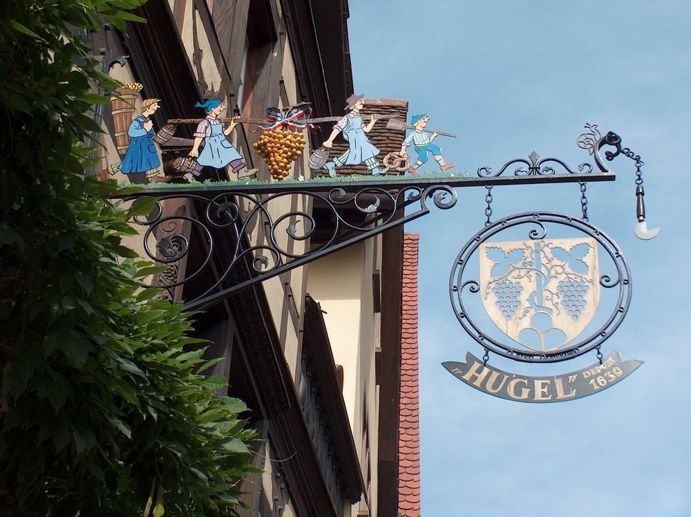 "Learn more about  Alsace ""Hugel""  and its wines…"