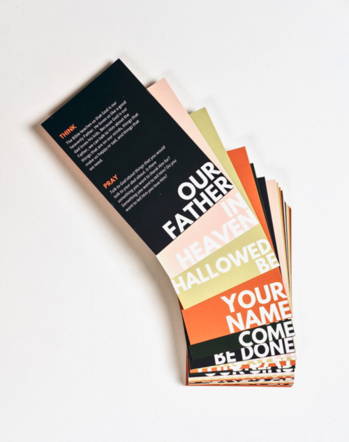 Lord's Prayer Interactive Cards