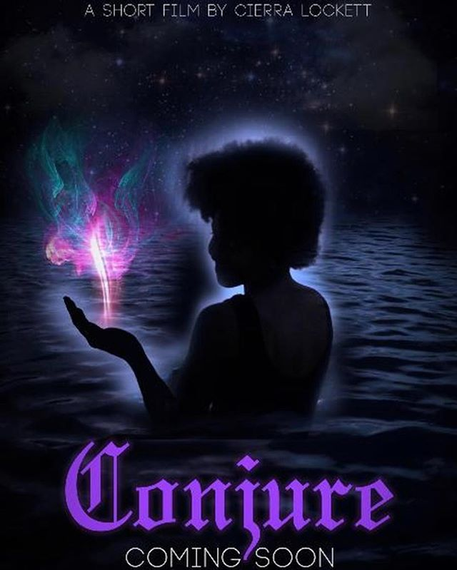 "Shades of Melanin contributor Cierra Lockett is following through on her ""Black Girl Magic: A Rise in Fantasy Representation on Screen"" article with a short film of her own! Check out her Indiegogo fundraiser for ""Conjure"" to see how you can help bring her project to life!  @cierralockett  https://www.indiegogo.com/projects/conjure-student-thesis-film  #blackgirlmagic #blackacademics #art #film #creatives #womensupportingwomen #blackcreatives #blackexcellence #writers"