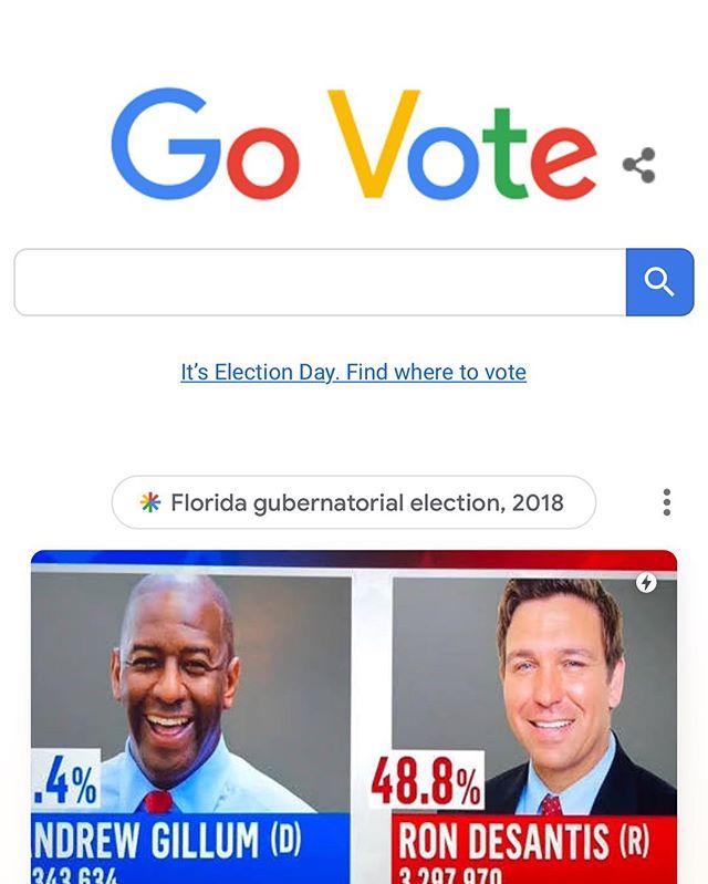 In case y'all ain't get the memo 👀 #govote #voteordie #andrewgillumforgovernor #comeonflorida