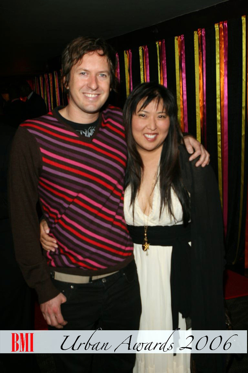 Helen Yu with Doug Aitken in NY