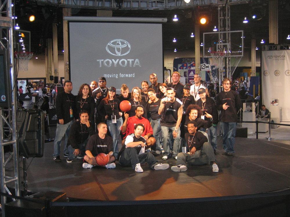 Toyota + NBA