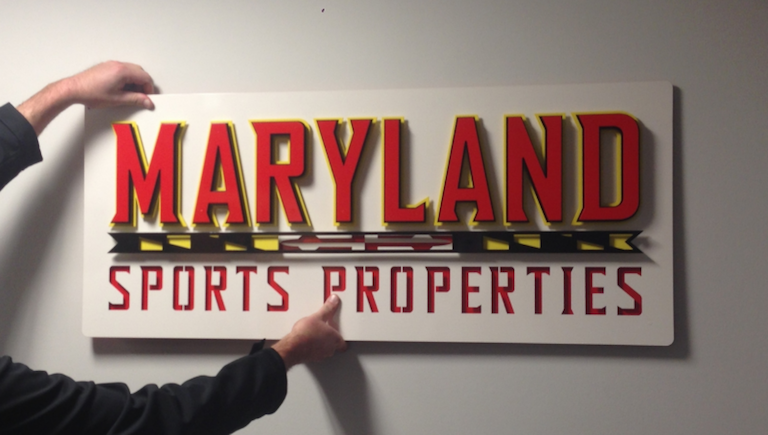 ShieldCo 3D Custom Metal Business Signage can be installed in minutes.