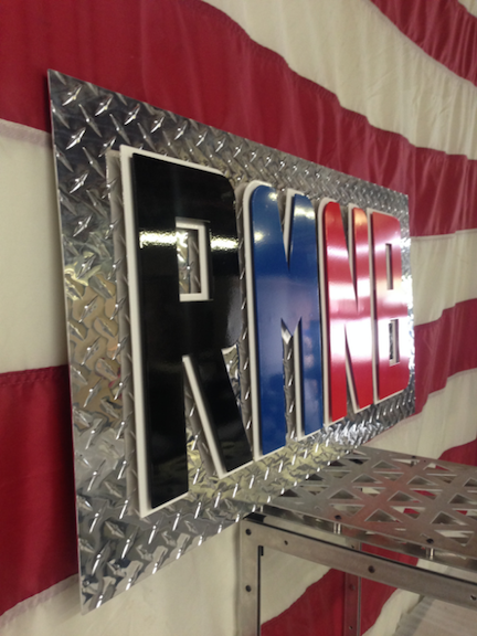 3D Custom Metal Business Signage - RMNB2
