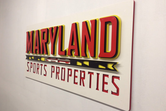 3D Custom Metal Business Signage - UMD