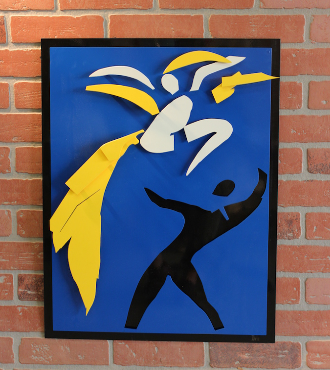 Layered Metal Art - Henri Matisse - Two Dancers