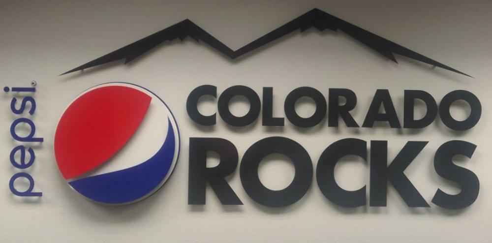 PepsiCo Office Sign