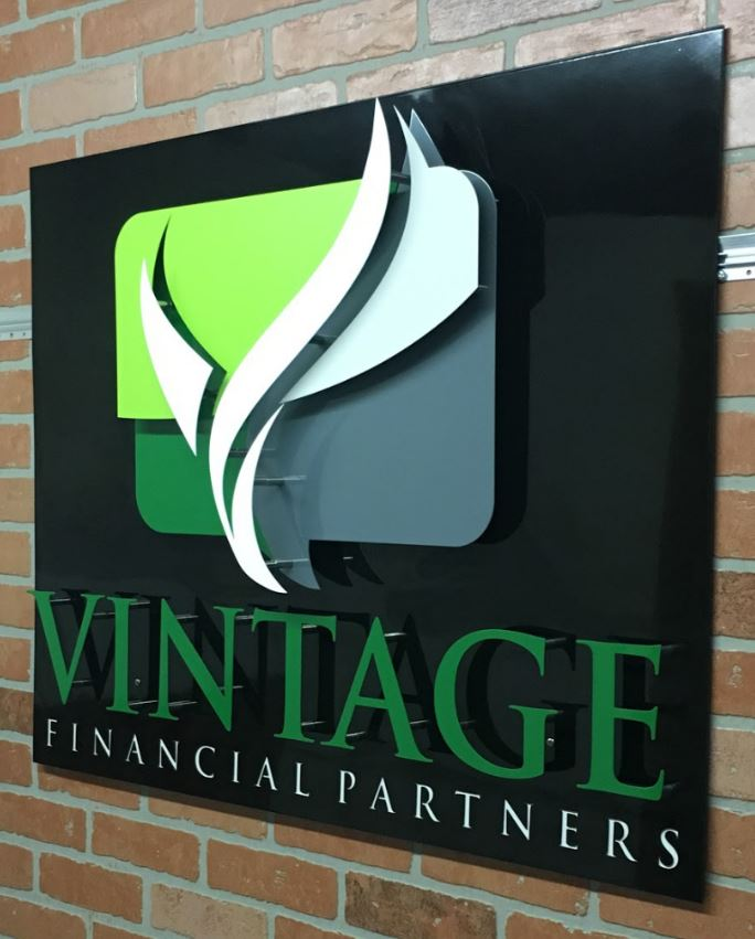 Vintage Financial Partners - Custom Metal Sign.JPG