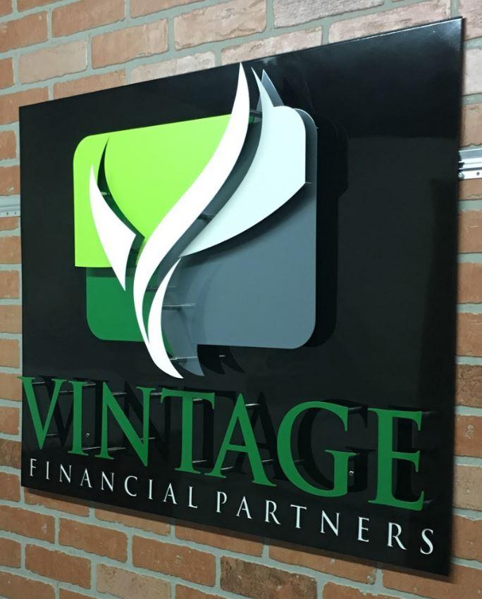 Vintage Financial Partners - Custom Metal Sign.JPG