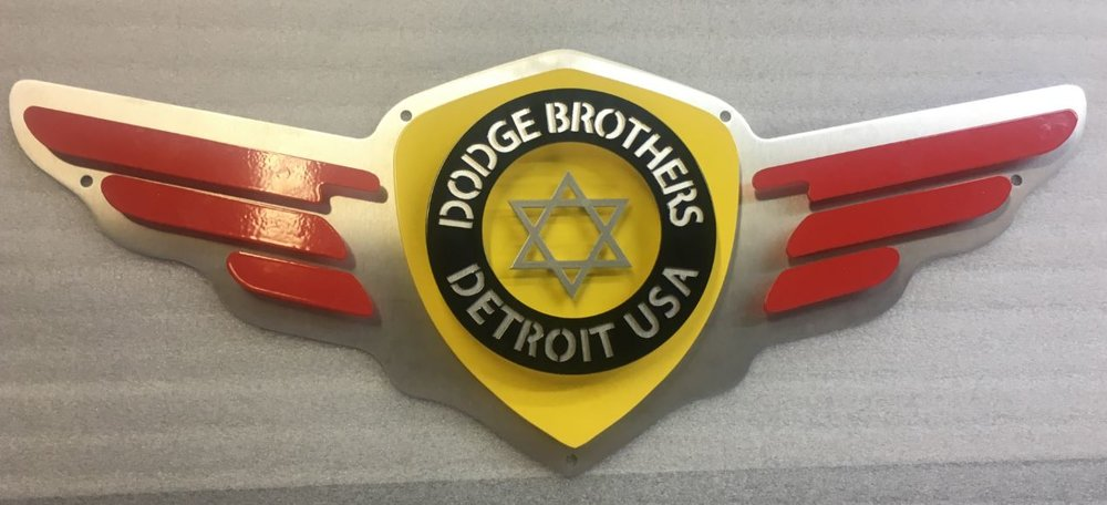 Dodge Brothers - Custom Metal Sign.JPG