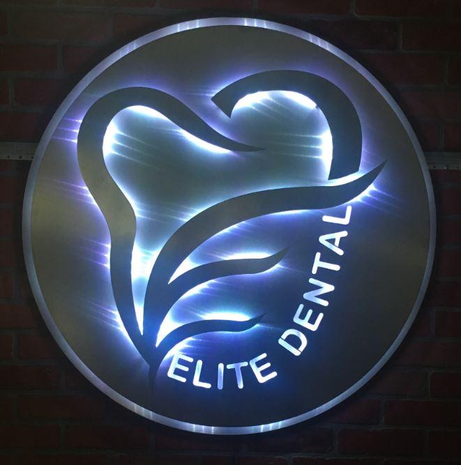 Elite Dental - Custom Metal Sign.JPG