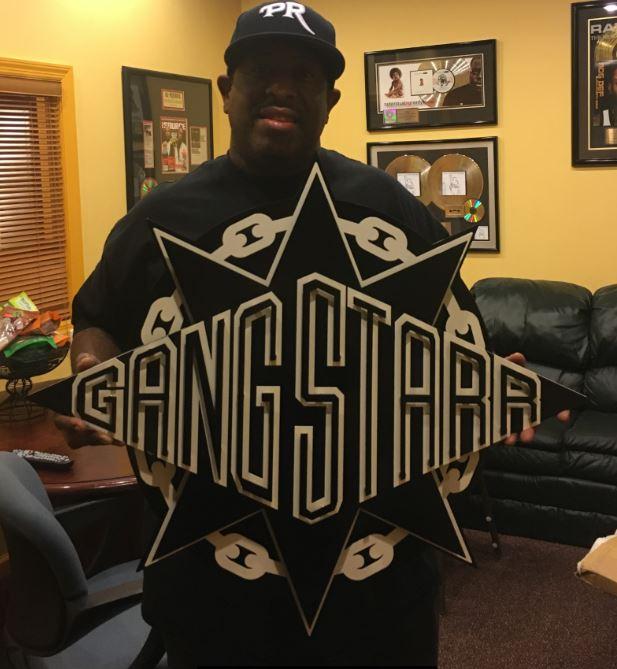 Gangstarr - Custom Metal Sign.JPG