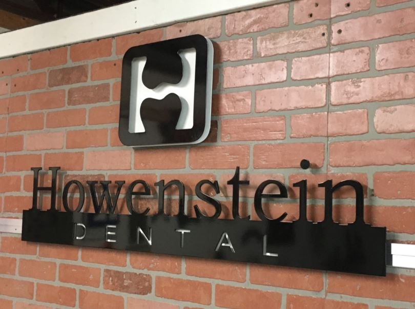Howenstein Dental - Custom Metal Sign.JPG