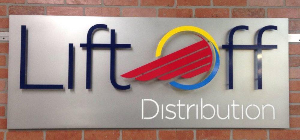 Lift Off Distribution - Custom Metal Sign.JPG