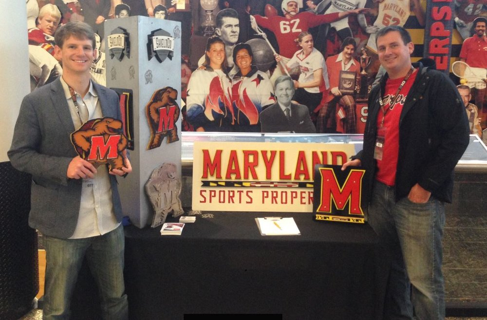 Luke and Paul Nowacek at the University of Maryland
