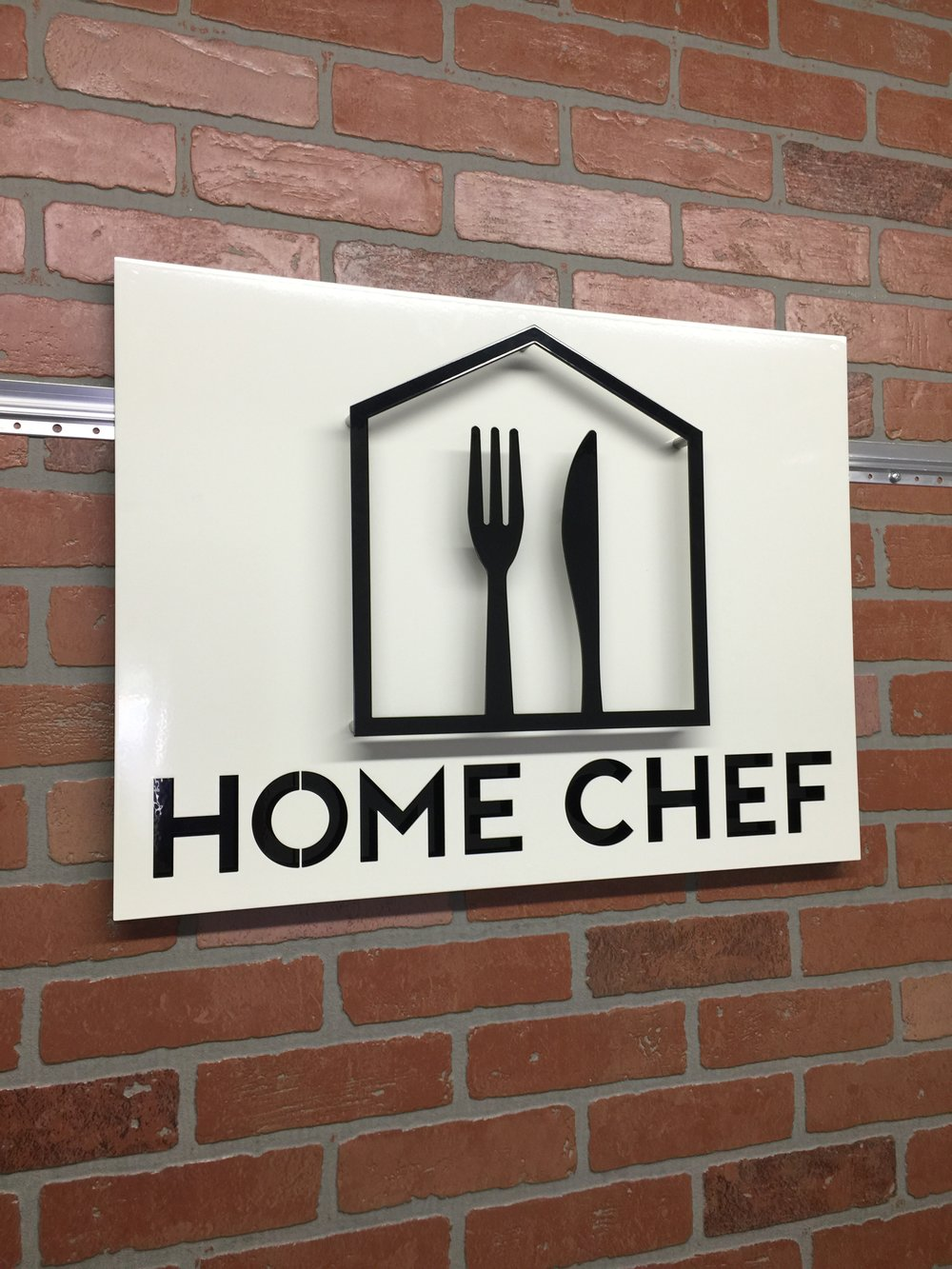Custom Metal Sign-Home Chef-Left Center.JPG