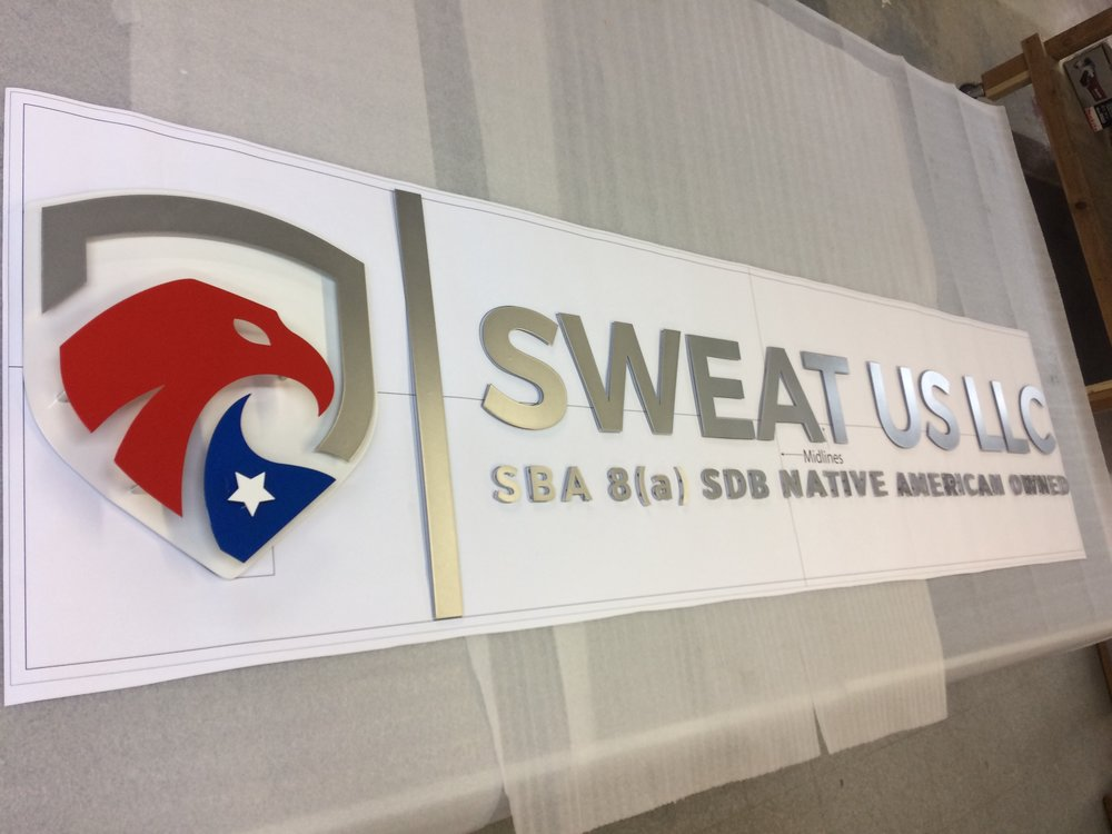 Custom Metal Sign-Sweat Us LLC-left.JPG