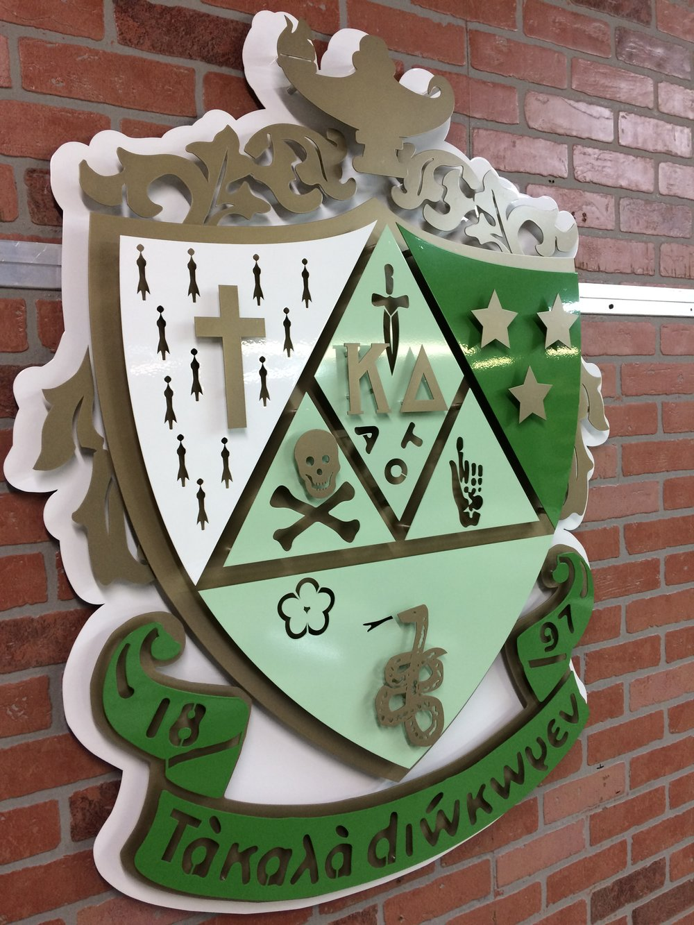 Custom Metal Sign-Kappa Delta-left.JPG