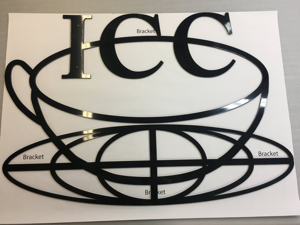 Custom Metal Sign-Inernational Coffee Corp.-front.JPG