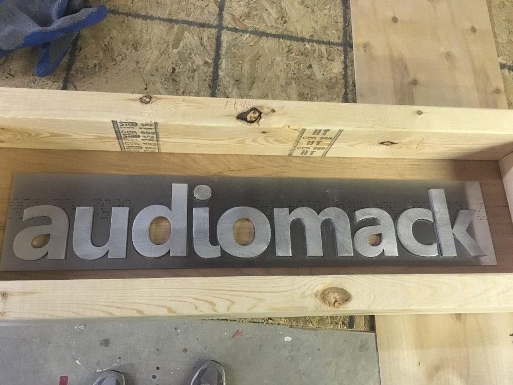 Custom Metal Sign- Audiomack- Front.JPG