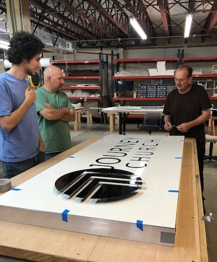 3d Custom Metal Business Signage - Frederick, MD