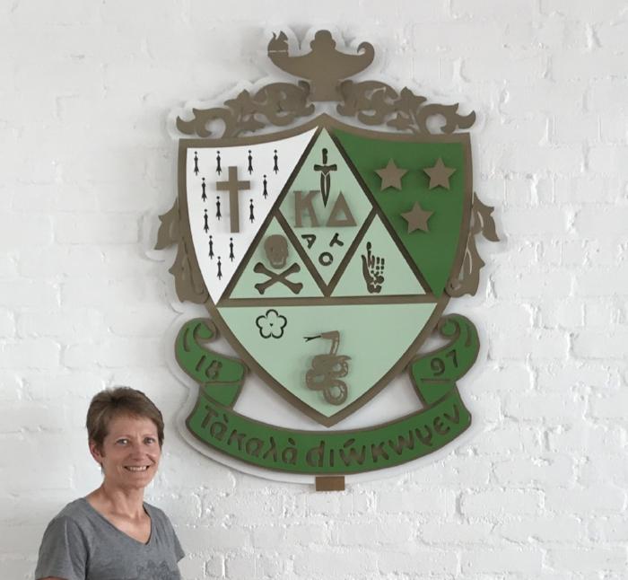 Kappa Delta Sorority House Coat of Arms