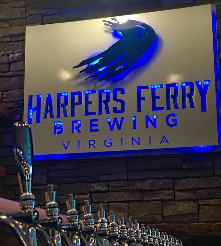 Harpers Ferry Brewing Sign - at location.jpg