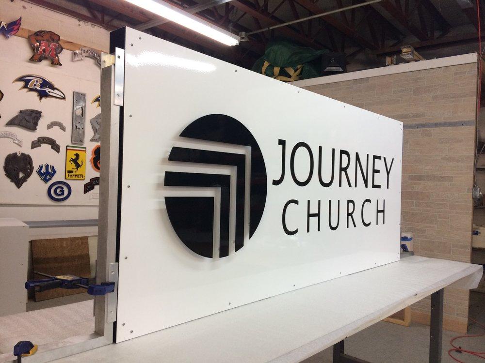 Custom Metal Sign-Journey Church-Back-Left.JPG