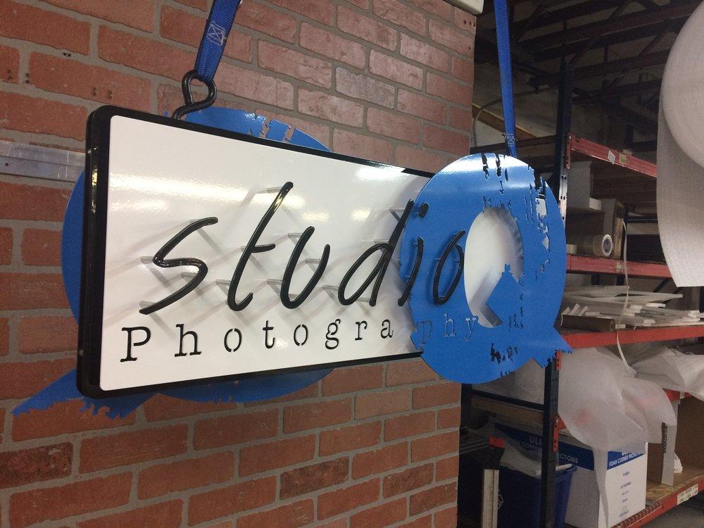 Custom Metal Sign-Studio Q-left.JPG